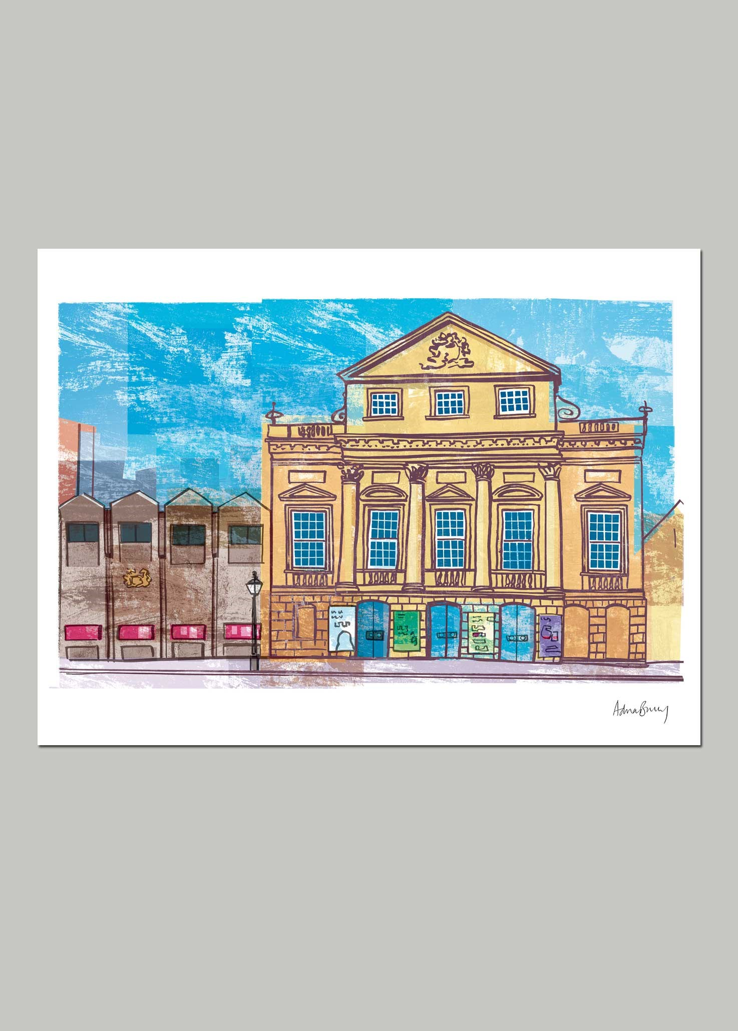 Bristol Old Vic by Adrian Barclay