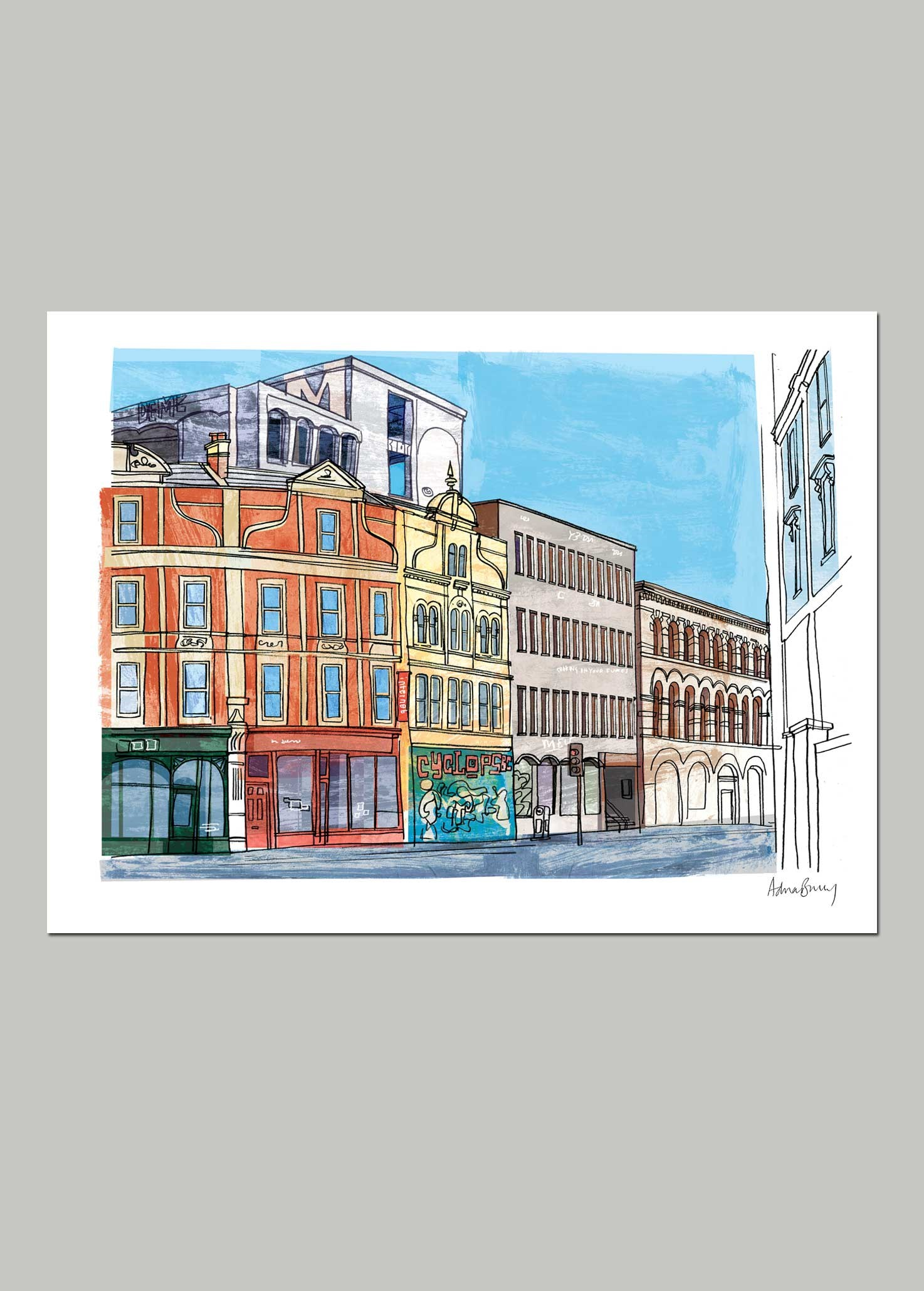 Westmoreland House, Stokes Croft by Adrian Barclay