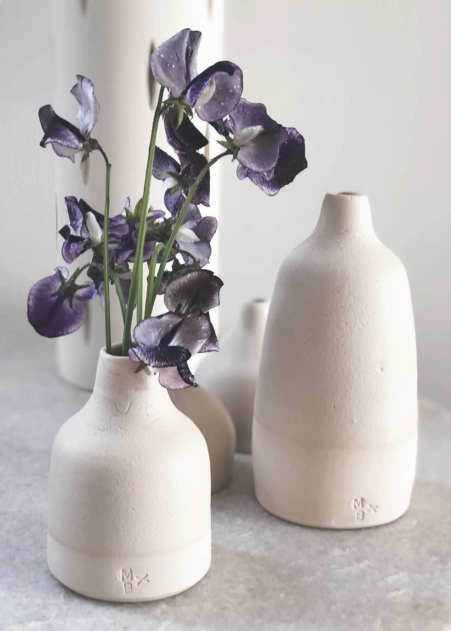Vases by Gill Marles
