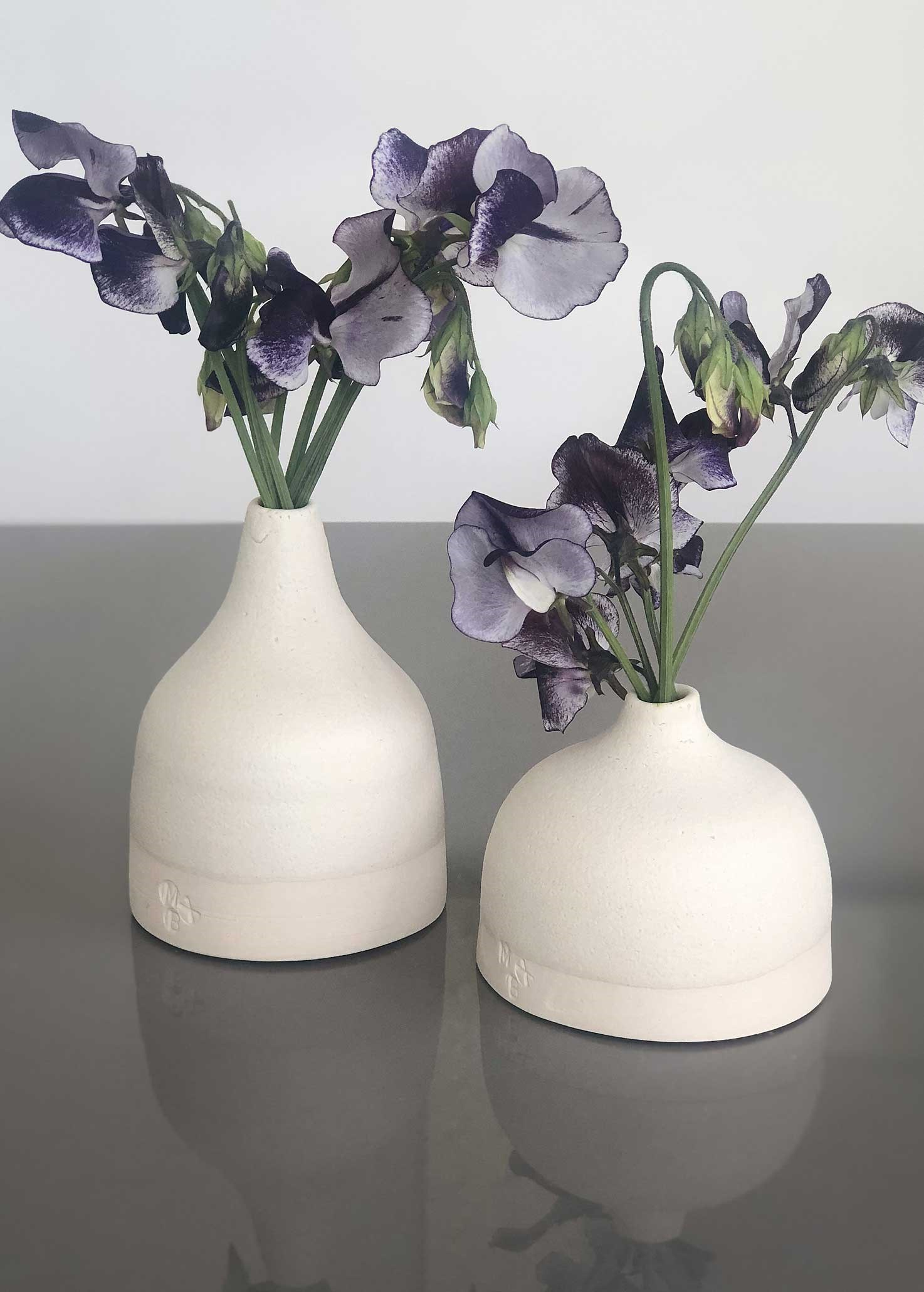 Squat Vases by Gill Marles